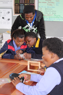 Imagine More works with BEEP, an environmental youth program in Cape Town.